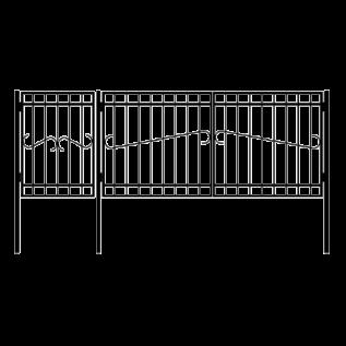 ВК-3 Ворота с калиткой