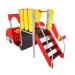 ИК-19  Игровой комплекс Пожарная машинка, площадка 0,9