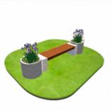 МАФ из бетона (с применением каменной крошки)