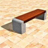 Скамейка на ж/б ножках МАФ 01.01
