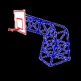 СО-64  Ферма баскетбольная уличная профессиональная