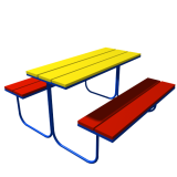 СЛ-1  Столик с лавочками
