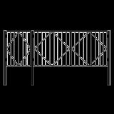 Ворота с калиткой 2