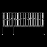 Ворота с калиткой 3