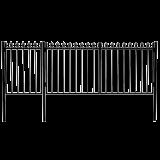 Ворота с калиткой 5