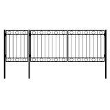 Ворота с калиткой 6