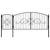Ворота с калиткой 7
