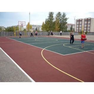 Безопасное покрытие для детских и спортивных площадок