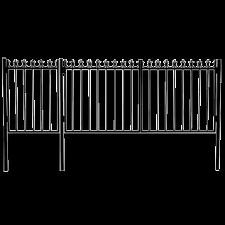ВК-5 Ворота с калиткой